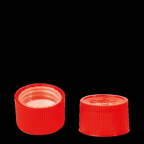 Drück & Dreh Verschluss - rot - DIN 25 Gewinde